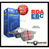 EBC ULTIMAX PREMIUM REAR BRAKE PADS for Great Wall X200 CC 2.0TD 11/2011-2/2016