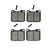 RDA GP MAX FRONT BRAKE PADS inc SENSORS for Mercedes W114 230.6 250 250C 250CE