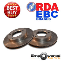 FRONT DISC BRAKE ROTORS  for Jeep CJ Series *2 Mount Bolt Calliper Type* 1976-86
