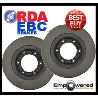 FRONT DISC BRAKE ROTORS for Iveco Daily 29 Series 35S Series 6/2006 on RDA8016