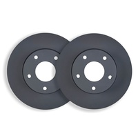 FRONT DISC BRAKE ROTORS inc WARRANTY for SSANGYONG KYRON 2.7TD 2006 on RDA7456