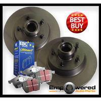 REAR DISC BRAKE ROTORS + PADS for Citroen C4 Picasso 1.6TD 2.0TD *267mm* 2007 on