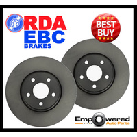 REAR DISC BRAKE ROTORS for SUBARU LIBERTY BM 3.6 9/2009-1/2015 RDA8212