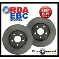 REAR DISC BRAKE ROTORS PAIR-RDA8032 for Chevrolet 4WD 2500 All Models 2000-2007