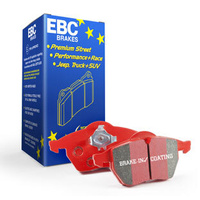 REAR EBC RED STUFF DISC BRAKE PADS for Jeep Grand Cherokee SRT8 6.1L 2006-2010