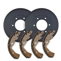 REAR BRAKE DRUMS + BRAKE SHOES for Great Wall V200 2011 on Inc WARRANTY RDA6558