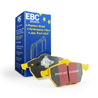 Holden Commodore VE 6.0L V8 SS-V 2006-10 EBC Yellow Stuff FRONT DISC BRAKE PADS