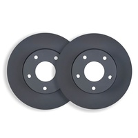 Audi A3 II 1.8T with Quattro 7/2007 onwards FRONT DISC BRAKE ROTORS RDA7227 PAIR