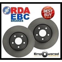 BMW X3 E83 2004-2/2011 FRONT DISC BRAKE ROTORS with 12 MTH WARRANTY - RDA7094