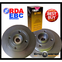REAR DISC BRAKE ROTORS + PADS for Renault Megane X84 2.0L *240mm* 12/2003-7/2010
