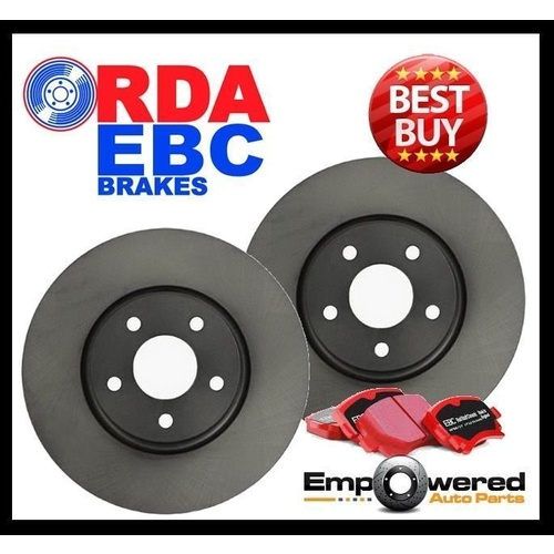Mercedes W251 R320CDI 2006 on FRONT DISC BRAKE ROTORS + CERAMIC PADS RDA7925